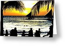 Isla De Boracay Greeting Card