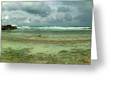 Isla De Mujeras North Shore Greeting Card