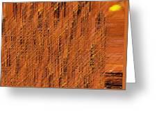 Island Abstract Greeting Card