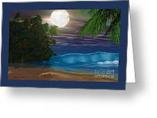 Island Beach Greeting Card by Corey Ford