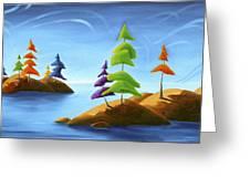 Island Carnival Greeting Card