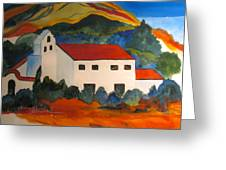 Island Church Greeting Card