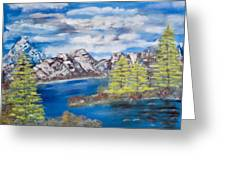 Island Cove Greeting Card