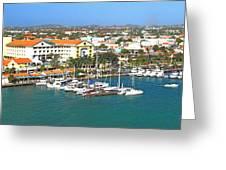 Island Harbor Greeting Card
