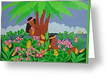 Island Love Greeting Card