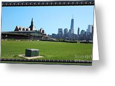 Island Park Elise Museaum Of American Immigration Journey Trip To Newyork Travel Zone America Photog Greeting Card