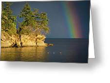 Island Rainbow Greeting Card