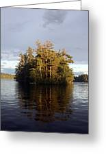 Island Reflections Greeting Card