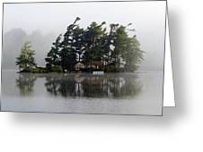 Island Retreat Greeting Card