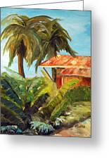 Island Sugar Shack Greeting Card
