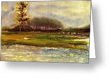 Islands On The River Greeting Card