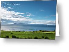 Isle Of Arran Under Cloud Greeting Card