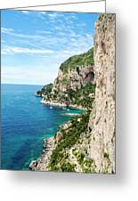 Isle Of Capri Greeting Card