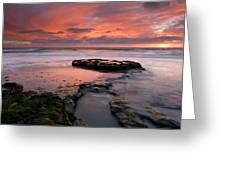 Isle Of The Setting Sun Greeting Card