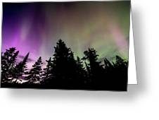 Isle Royale Aurora  Greeting Card