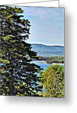 Islesboro View  Greeting Card