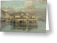 Isola Dei Pescatori Greeting Card