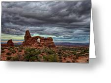 Isolated Arch Greeting Card