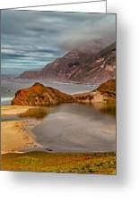 Isolated Cove Greeting Card