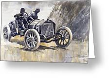 Isotta Fraschini 50hp 1908 Targa Florio  Greeting Card