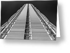 Isozaki Tower - Allianz Greeting Card