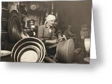 Israel: Metal Workers, 1938 Greeting Card