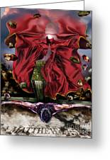 It Is Finished Greeting Card by Reggie Duffie