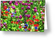 It Takes A Mix To Make A Garden Greeting Card