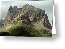 Italian Alps Greeting Card