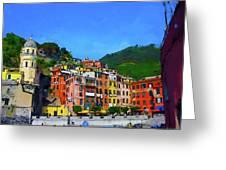 Italian Beachside  Greeting Card