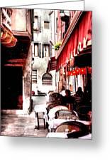 Italian Bistro - Venice Greeting Card