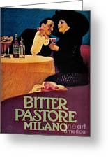 Italian Bitters Ad 1913 Greeting Card
