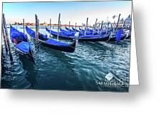 Italian Blue Greeting Card