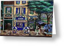 Italian Cafe Greeting Card