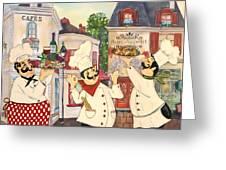 Italian Chefs-jp3042 Greeting Card