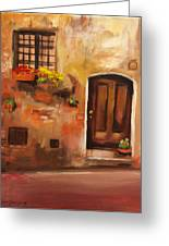 Italian Door Greeting Card