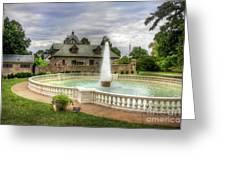 Italian Fountain Maymont  Greeting Card