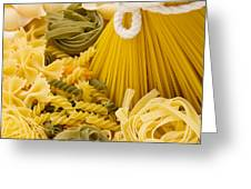 Italian Pasta Greeting Card