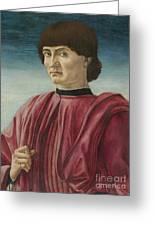 Italian Renaissance Portrait Painter Greeting Card