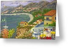 Italian View Greeting Card