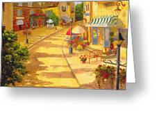 Italian Village Greeting Card