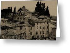 Italian Villas Greeting Card