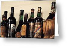 Italian Wine Greeting Card