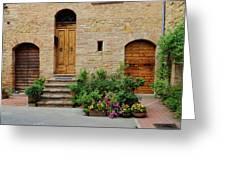 Italy - Door Eight Greeting Card