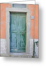 Italy - Door Five Greeting Card