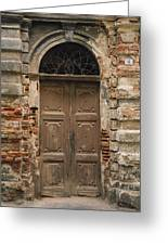 Italy - Door Four Greeting Card