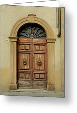 Italy - Door One Greeting Card