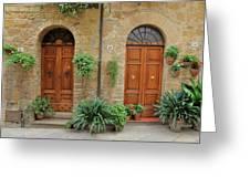 Italy - Door Seventeen Greeting Card