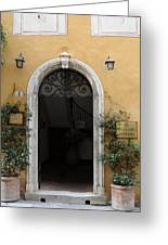 Italy - Door Thirteen Greeting Card