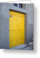 Italy - Door Three Greeting Card